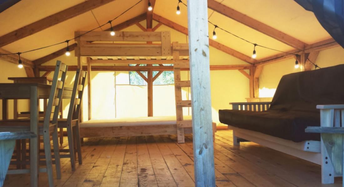 Prospector tents wild woods hideaway for Woods prospector tent