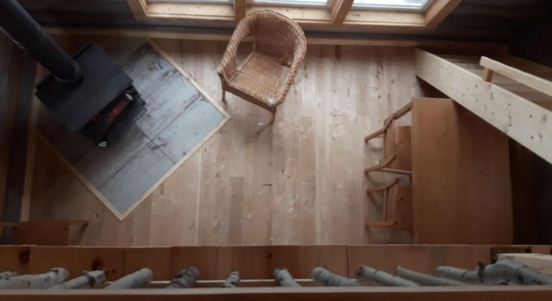 Log Cabin – top down