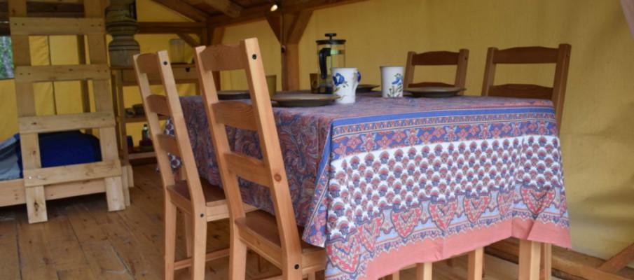 Tent – Interior 2