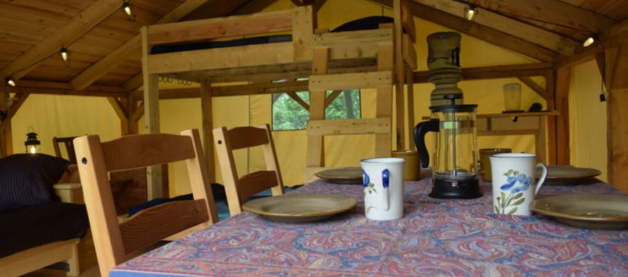 Tent – Interior 1